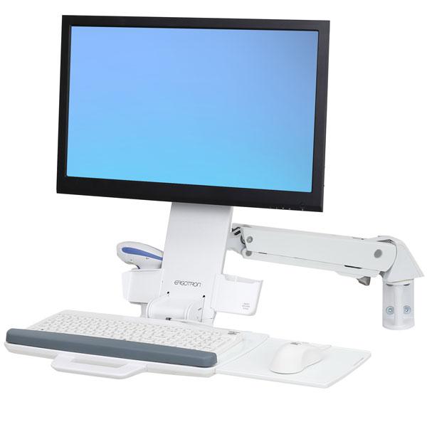 StyleView® 坐站两用型支臂 (亮白)45-266-216