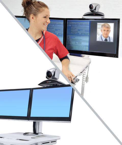 SV Telepresence 套件,双显示器 97-871