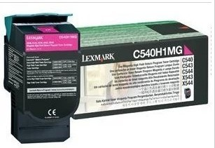 利盟 C540H1MG 红色高容粉盒 C540X543 X544 X546 正品耗材