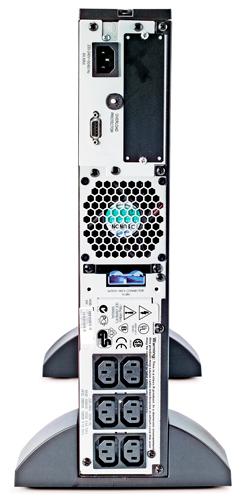 APC SURT1000UXICH 1KVA 700W机架式长延时UPS电源 主机 48V电池